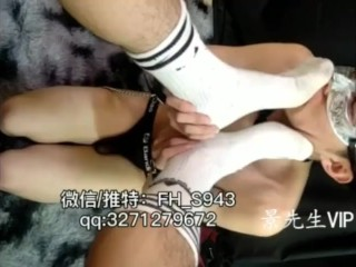 Chinese Old Hand Toes Domination9