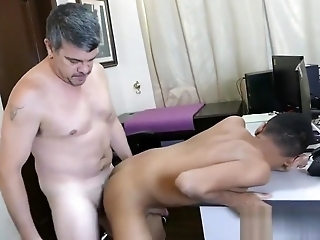 Asian Twink Craig Barebacked Scream Off Out Of One's Mind Daddy
